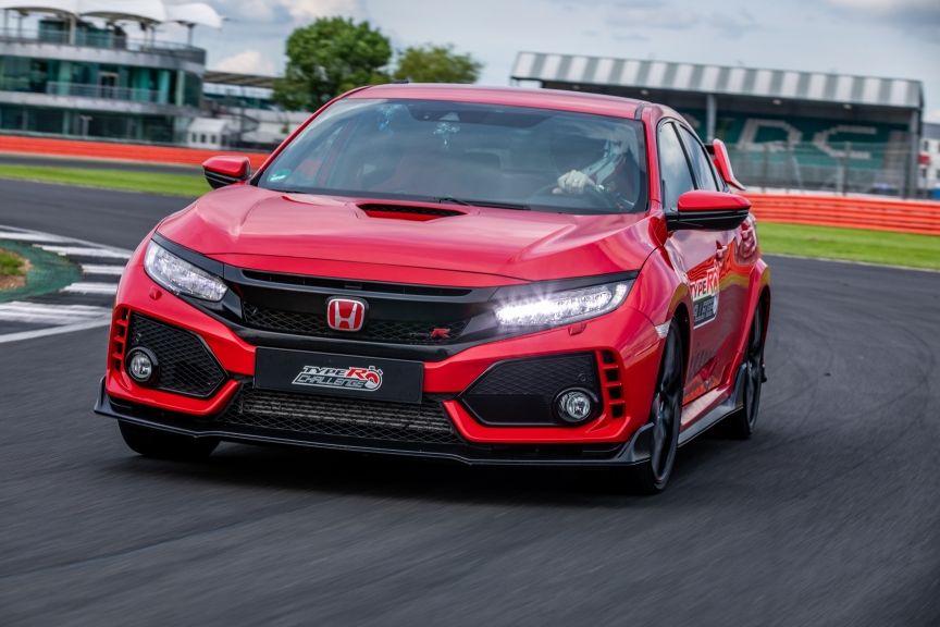 Three in three for Type R: British Touring Car champion, Matt Neal, takes third lap record of 'Type R Challenge 2018' at Silverstone GP circuit