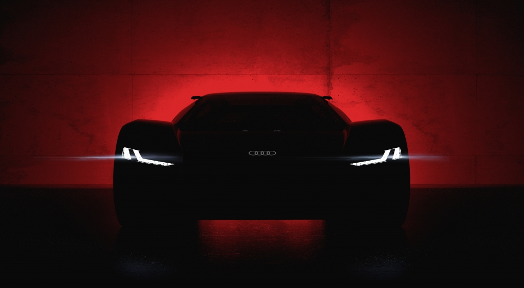 Will be unveiled in Pebble Beach on August 23, 2018 – the Audi PB 18 e-tron show car