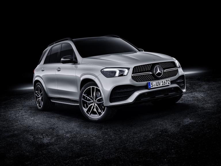 Mercedes-Benz GLE; 2018; AMG Line; Exterieur: iridiumsilber // Mercedes-Benz GLE; 2018; AMG Line; exterior: iridium silver