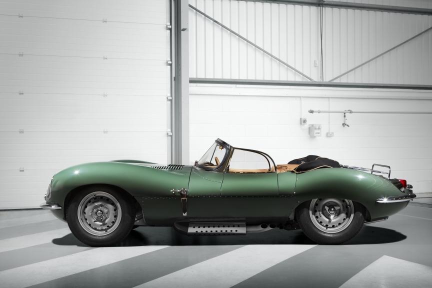 Jaguar Classic presenta el nuevo XKSS original del año 1957 -