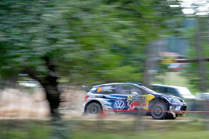 Andreas Mikkelsen (NOR), Anders Jæger (NOR) Volkswagen Polo R WRC (2016) WRC Rally Poland